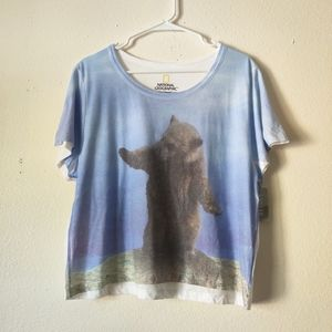 🌵National Geographic Bear Tee